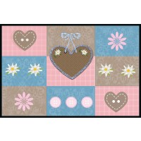 Fußmatte Eurographics Sweet Hearts 50x75