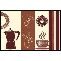 Fußmatte Eurographics Coffee Shop 50 x 75
