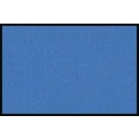 Fußmatte Eurographics Uni Ocean Blue 75cm x 120cm