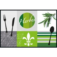 Fußmatte Eurographics Cuisine Francaise 50cm x 75cm