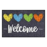 Fußmatte_Heart_Welcome_bunt