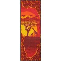 Fußmatte Afrikakarte XXL