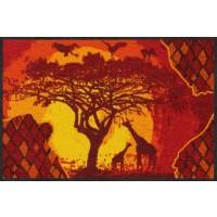 Fußmatte Afrikakarte