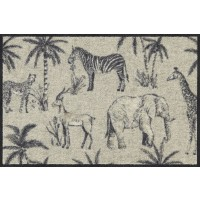 Fußmatte Afrikatiere