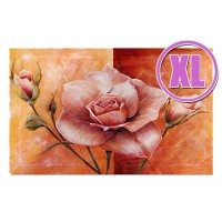 Fußmatte Gallery Rose apricot XL