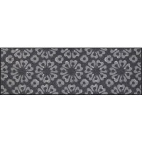 Fußmatte Block Print graphite XXL