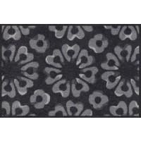 Fußmatte Block Print graphite