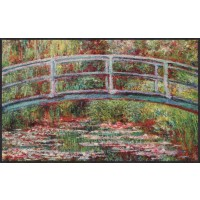 Fußmatte Bridge Water Lilies XL