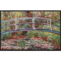 Fußmatte Bridge Water Lilies