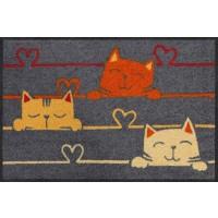 Fußmatte Cat Lines (