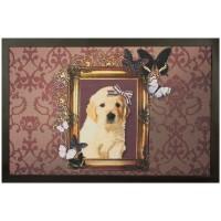 Fußmatte Deco Hundeporträt
