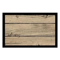 Fußmatte Deco & Wash Holz