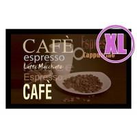 Fußmatte Deco & Wash Kaffee XL