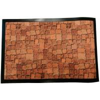 Fußmatte Deco & Wash Pflastersteine