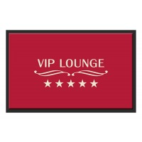 Fußmatte Deco & Wash VIP Lounge rot