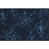 Fußmatte Flower Dance blue