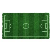 Fußmatte Fussballfeld Kokos