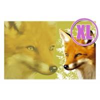 Fußmatte Gallery Fuchs grün XL