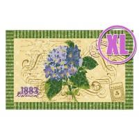 Fußmatte Gallery Hortensien Postkarte XL
