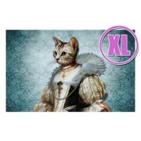Fußmatte Gallery Katze in Tüll XL