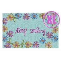 Fußmatte Gallery Keep Smiling XL