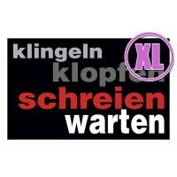 Fußmatte Gallery Klingel und Klopfen XL
