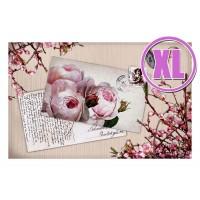 Fußmatte Gallery Rosenpostkarte XL