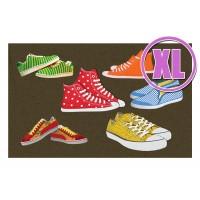 Fußmatte Gallery Sneakers XL