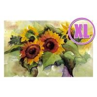 Fußmatte Gallery Sonnenblumen XL