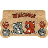 Fußmatte Katzenbabys