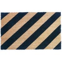 Fußmatte Kokos Streifen Diagonal