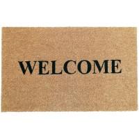 Fußmatte Kokos Welcome