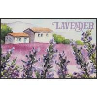 Fußmatte Lavender Houses XL