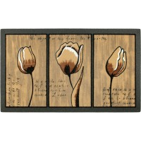 Fußmatte Liebesbrief Tulpe