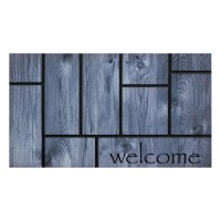 Fußmatte Master Tiles gray welcome