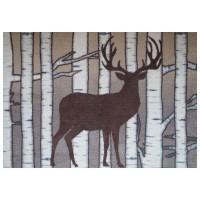 Fußmatte Mikrofaser Birch Deer XL