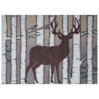 Fußmatte Mikrofaser Birch Deer