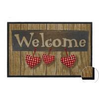 Fußmatte Mondial Welcome Hearts