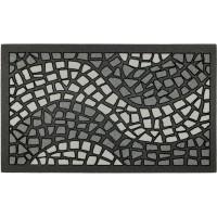 Fußmatte Mosaik grau