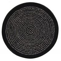 Fußmatte Nestor round black