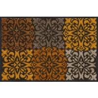 Fußmatte Ornament Tiles gold