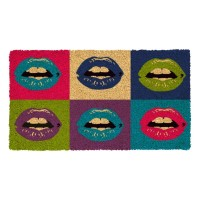 Fussmatte Pop art lips Kokos