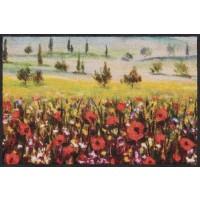 Fußmatte Poppy Field