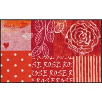 Fußmatte Rose Heart XL