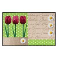 Fußmatte Salonloewe Frühlingsblume