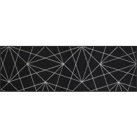 Fußmatte Satelite black white XXL