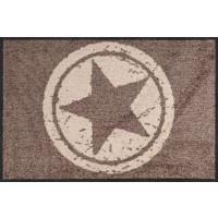 Fußmatte Salonloewe Star Brown