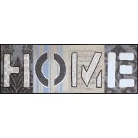 Fußmatte Salonloewe Home Squares XXL