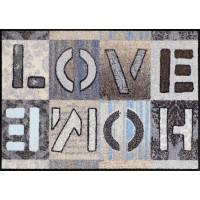 Fußmatte Salonloewe Love Home Squares