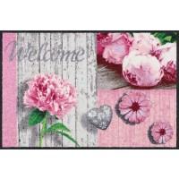 Fußmatte Romantic Wood Patch Rose